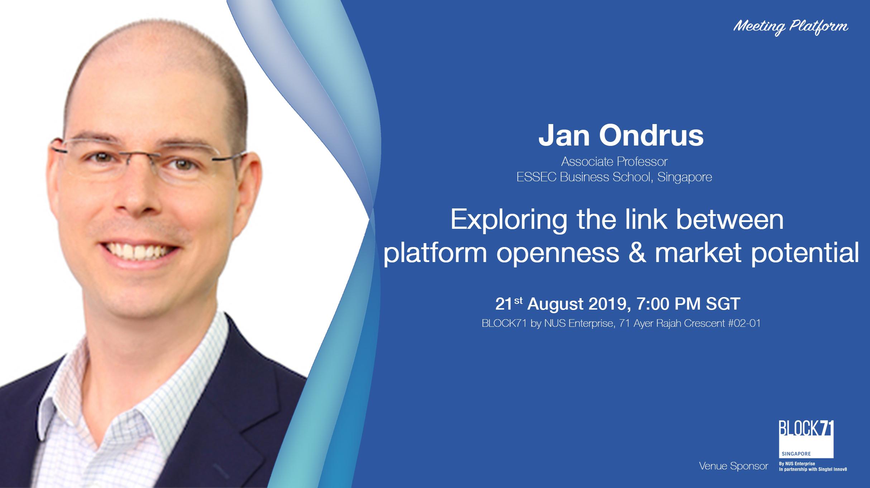 Exploring the link between platform openness & market